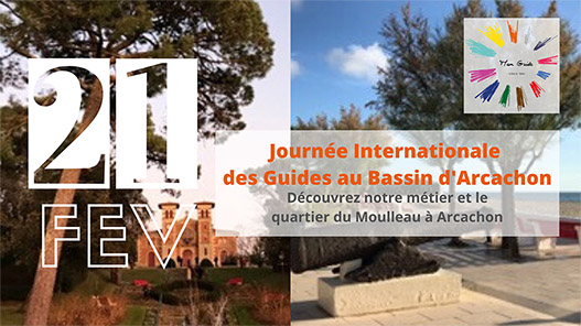 Journee internationale guides bassin d'Arcachon : le quartier du Moulleau